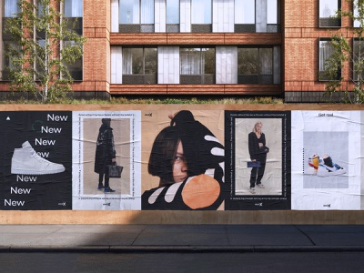 StockX Refresh - Campaign stockx nike sneakers fashion billboard campagin layout typography branding type design