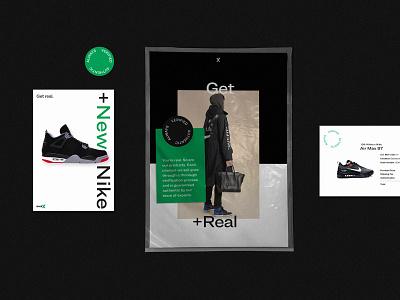 StockX Brand Refresh - Mailer strelioff layout type branding sticker typography design shopping sneakers streetwear fashion nike stockx mailer