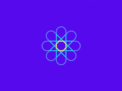 Medical Logo app natural flower star icon branding logo startup doctor medical