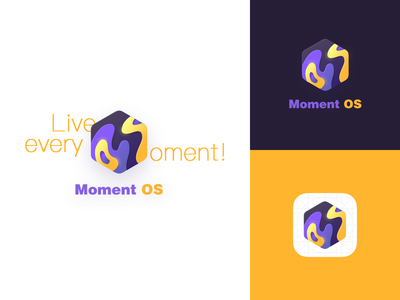 Moment OS based on Android moment rom android ui design logo