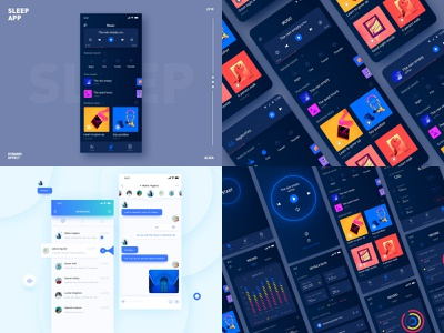 2018 chat 商标 设计 纽扣 应用 颜色 ui 蓝色