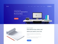 Lora Landing Page - Color Exploration