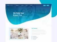best-wedding Web UI Redesign