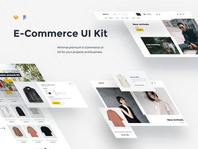 E-Commerce UI Kit & design system online store e-commerce theme e-commerce ui kit e-commerce ui e-shop ecommerce uikits uikit ui