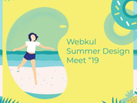 "Webkul summer design meet""19"
