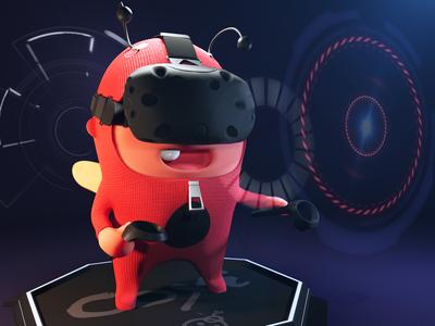 'Zip' the ladybug (Virtual Reality)