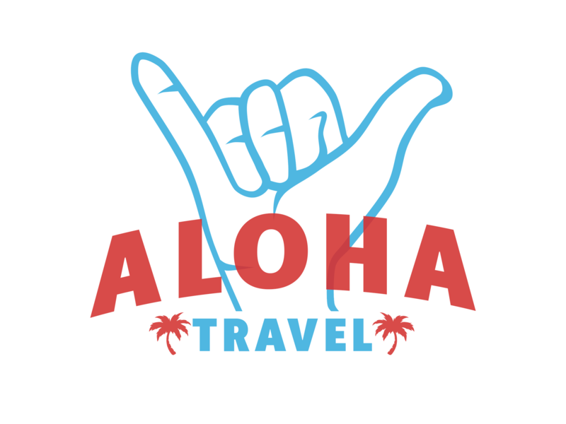 Aloha Travel • Logotype by NotVeryDesign on Dribbble