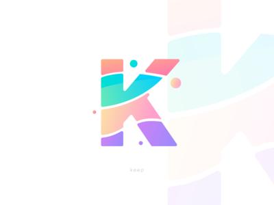 K Letter • Logotype