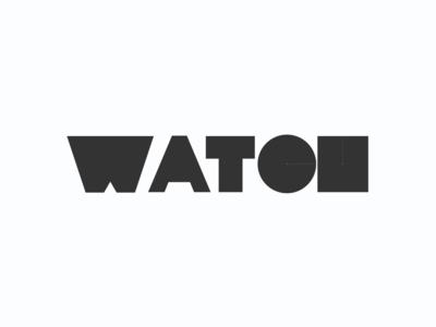 Watch • Logotype