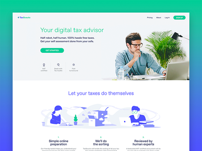 TaxScouts – prepare your self-assessment tax return online hmrc london england united kingdom uk tax return accountant self-assessment taxes tax