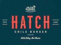 OTB Hatch Chile Burger