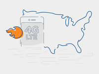 4G LTE Coverage + Speed
