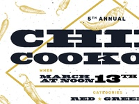 5th Annual Chili Cookoff