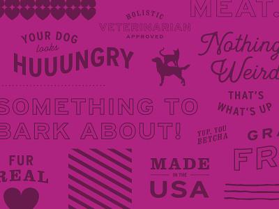 Type Explore II iandloveandyou overlay food cat dog typography