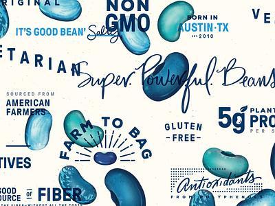 #BeanNation fiber americanfarmers farmers good nongmo austintexas texas austin antioxidants farmtobag vegetarian texture beanitos typography beans