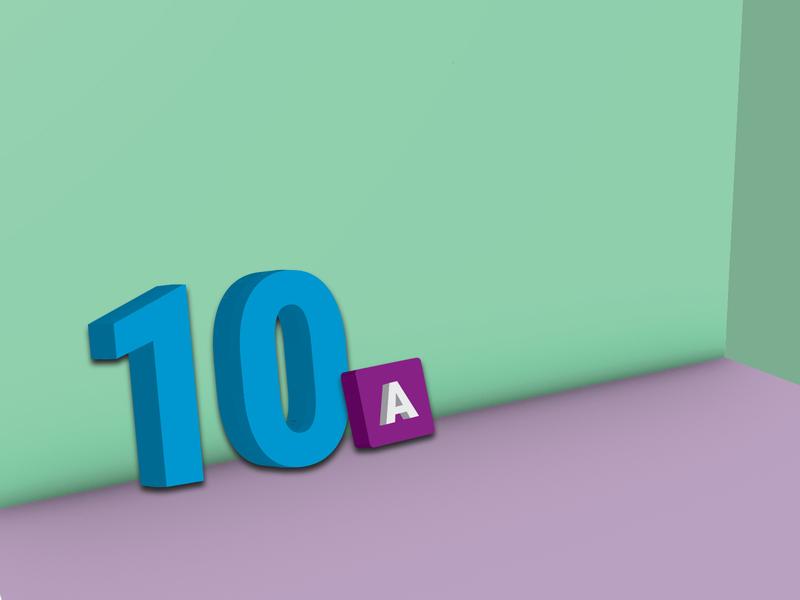 3D Design in Illustrator typography creative logo 3d art 3d