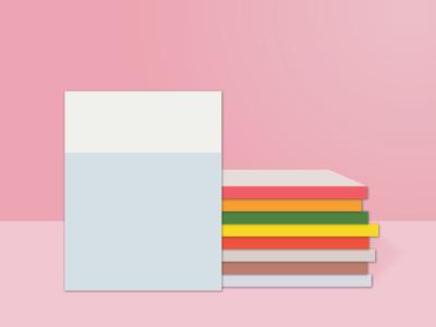 cover typography vector creative logo book cover design