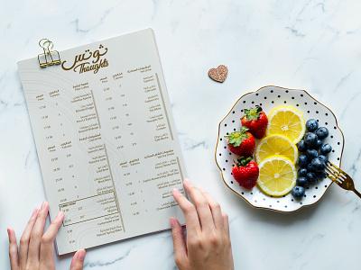 Simple Resturant Menu for Saudi Customer fried chicken vector branding typography design menu food restaurant