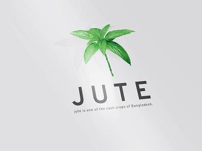 JUTE Crops enviroment bag pillow bedclothes jungle gray grey vegitable tree illustration typography branding logo country cash mills plank folding crops jute