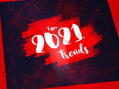 2021 2020 trend trend vector branding logo typography