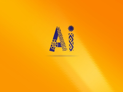 ai typography illustrator logo