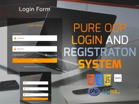 Pure OOP Login and Registration System