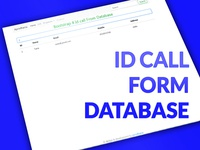 ID Call From Database (Bootstrap 4 )
