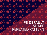 ps shape repeated pattern