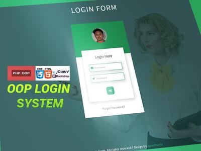 PHP OOP | Login System