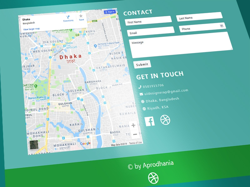 php mysql contact with map google maps map html css mysql php script