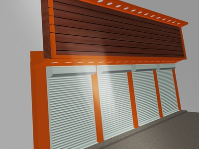 3D - Shop Cladding (Customer Choice)