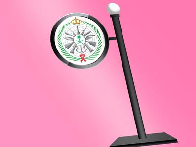 3D Pylon with light box for Saudi Buyer