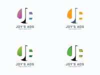 Letter J E Logo template