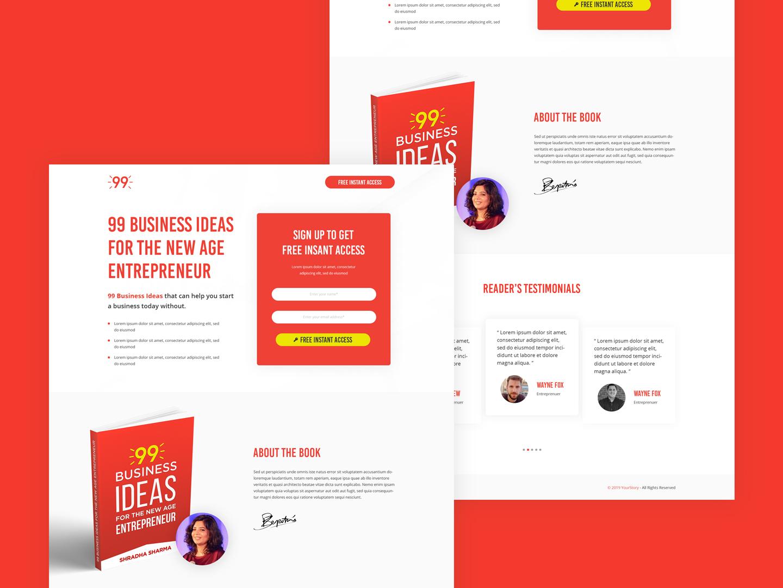 Ninety Nine Business Ideas by Abbas Rizvi on Dribbble