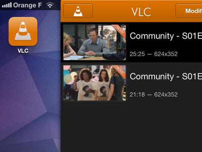 VLC for iOS vlc ios iphone ipad media player