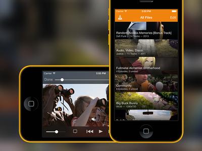 VLC for iOS7 vlc media player ios7 iphone ipad