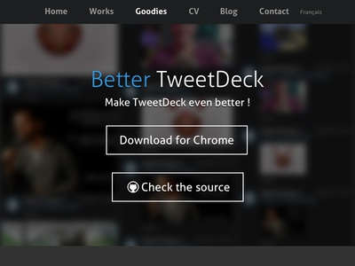 Better Tweetdeck Page better tweetdeck tweetdeck chrome extension
