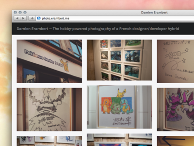 Bye 500px and Flickr, hello Koken ! flickr photography 500px koken