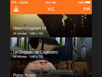 VLC iOS on Sketch sketch vlc media player ios
