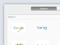 Go.Frenchlabs Engines Selector