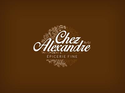 Work in progress logo inspiration epicerie fine shop coffe inspiration logo