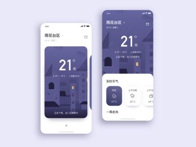 UI-weather app