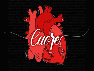 Cuore - Lettering
