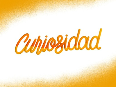 Curiosidad - Lettering
