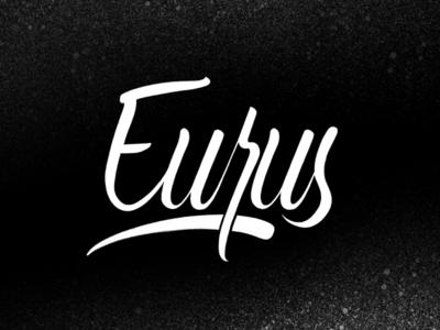 Eurus - Lettering