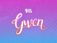 Gwen - Lettering