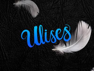 Ulises - Lettering