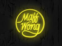 Maff Wong - Lettering