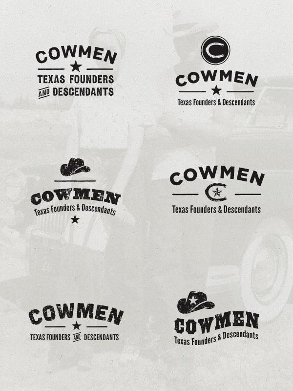 Cowmen conceptlogos