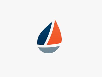 Logo Design Proposal for Spinnaker logo sail boat oil gas oilfield energy drop